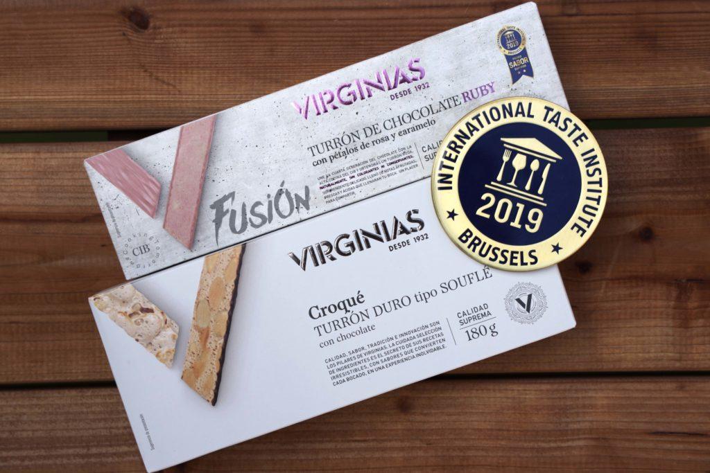 Dos turrones Virginias son galardonados en el Superior Taste Award