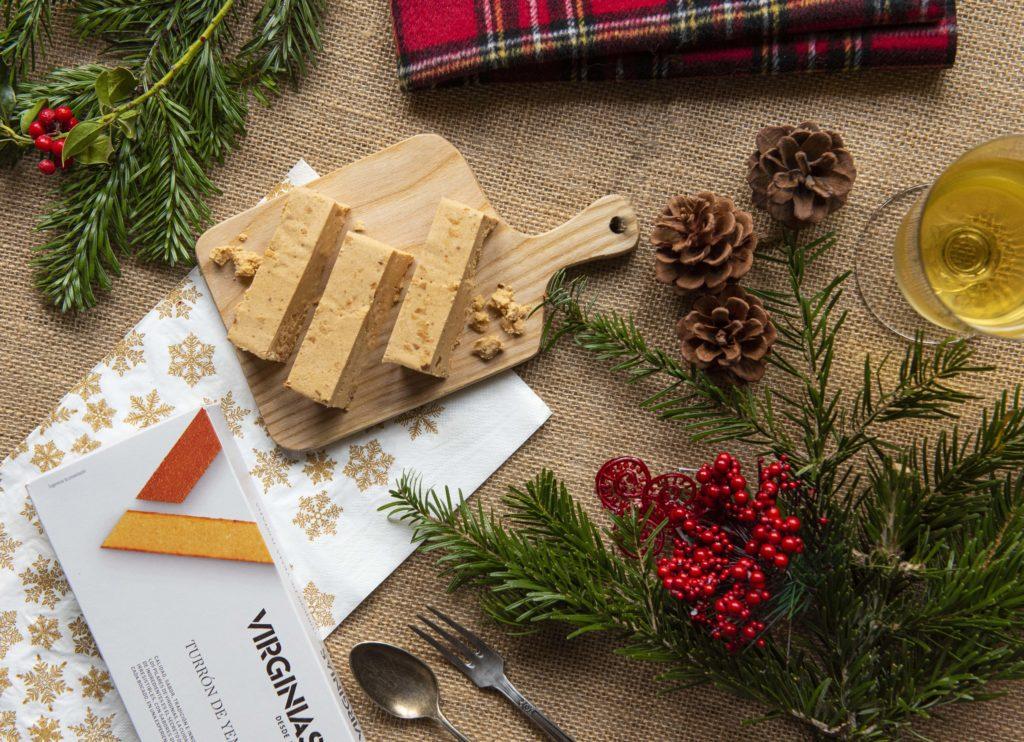 Turrones Virginias para Navidad