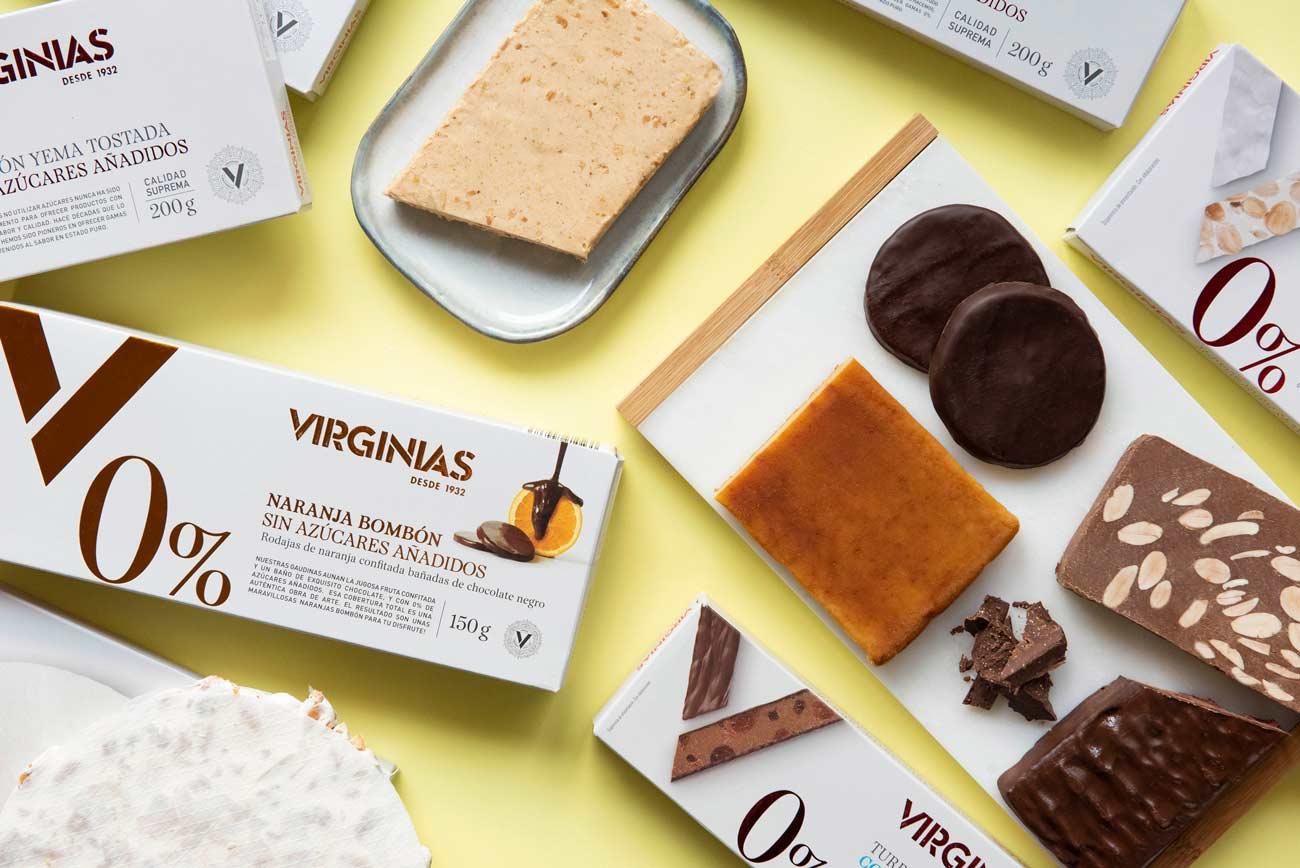 Turrones Sin Azúcar | Escoge tu sabor en nuestra tienda | Virginias
